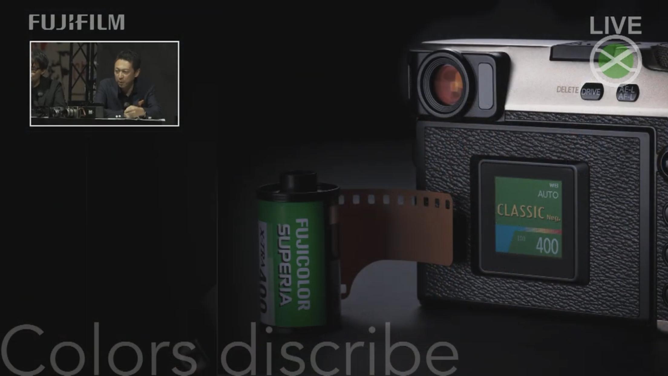 Fujifilm Classic Negative