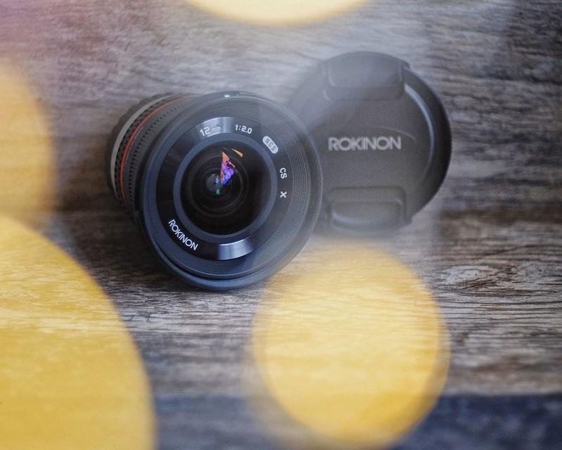 Rokinon 12mm f/2 Lens