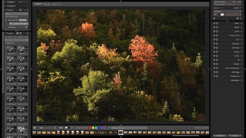 Exposure X5 Fujifilm