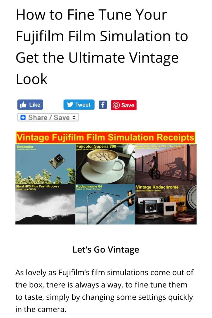 Fujifilm Blog Fujirumors