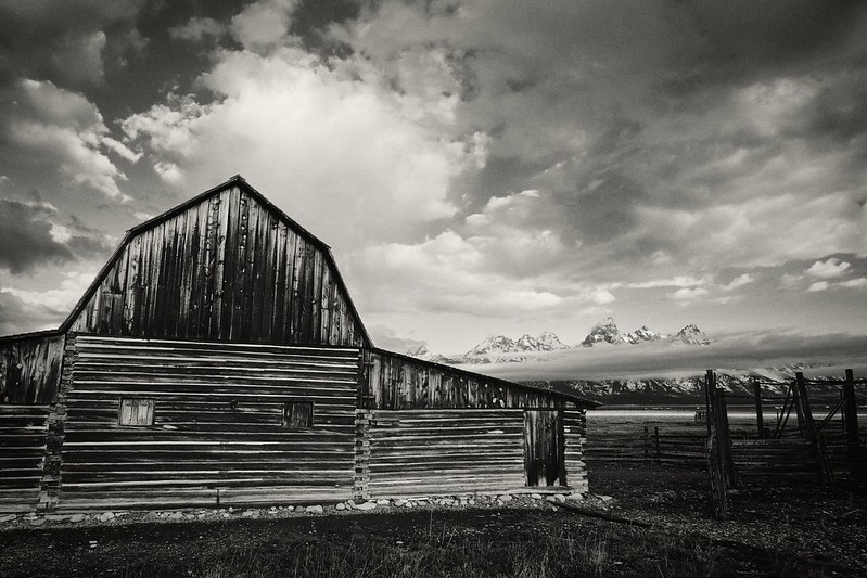 John Moulton Barn Grand Teton National Park
