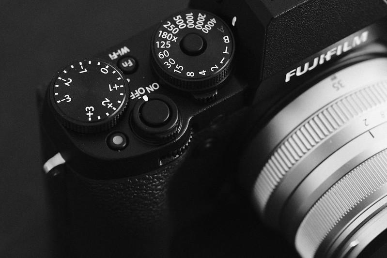 Fujifilm X-T1 Dials
