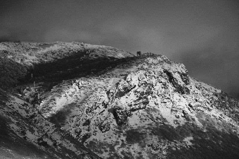 Monochrome Wasatch Mountain